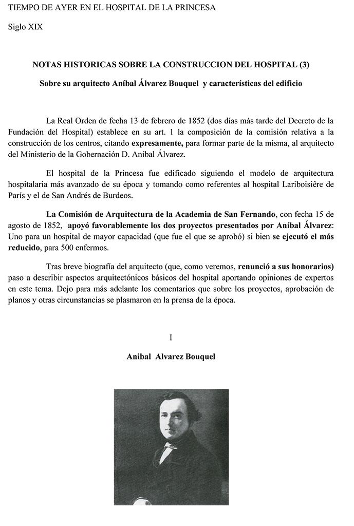 NOTAS HISTORICAS SOBRE LA CONSTRUCCION DEL HOSPITAL (3)
