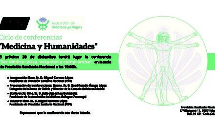 """Conferencia 20 de Diciembre – """"Medicina y Humanidades"""""""