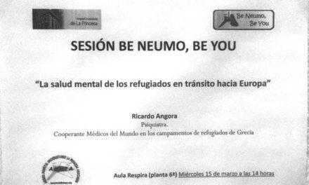Sesión Be Neumo, Be You – La salud mental de los refugiados en tránsito hacia Europa