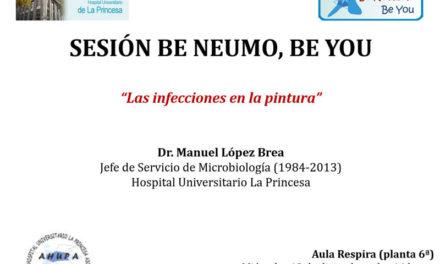 """Sesión Be Neumo, Be You 13 de Diciembre – """"Las infecciones en la pintura"""""""