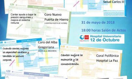 XVI Encuentro Coros SAnitarios de la Comunidad de Madrid – 31 de Mayo
