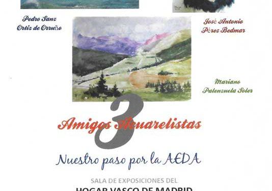 Acto Inaguración Exposición Amigos Acuarelistas – Viernes 1 Junio