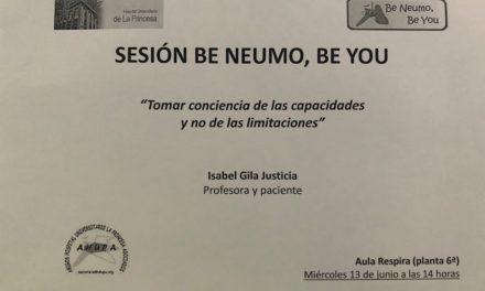 """Sesión Be Neumo, Be You 13 de Junio – """"Tomar conciencia de las capacidades y no de las limitaciones"""""""