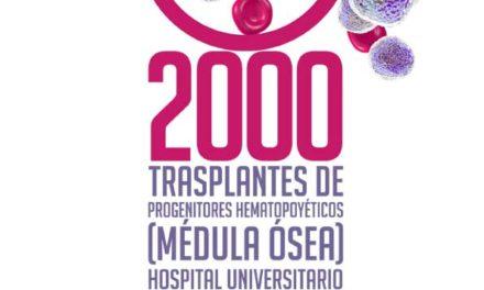 Acto celebración 2.000 trasplantes de progenitores hematopoyéticos – 14 de Febrero