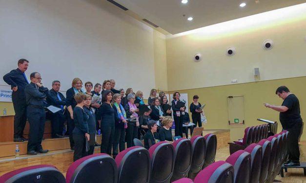 Celebración del décimo aniversario de la creación del Coro del Hospital Universitario de La Princesa
