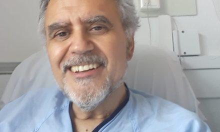 Buena noticia, Carlos Valiente supera COVID-19